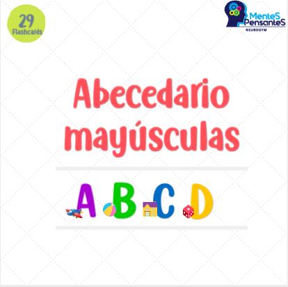 Flaschards/ Tarjetas de abecedario